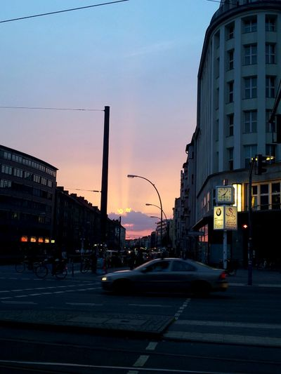 Hot & Cold Sunset In Berlin