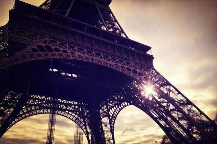 Paris ❤ Paris Eiffel Tower Sunshine