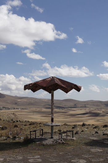 armenia Climate Arid Climate Desert Barren Remote Metal Old Outdoors Beauty In Nature Scenics - Nature Tranquility Field Nature Tranquil Scene Non-urban Scene No People Day Landscape Cloud - Sky Land Environment Sky Armenia