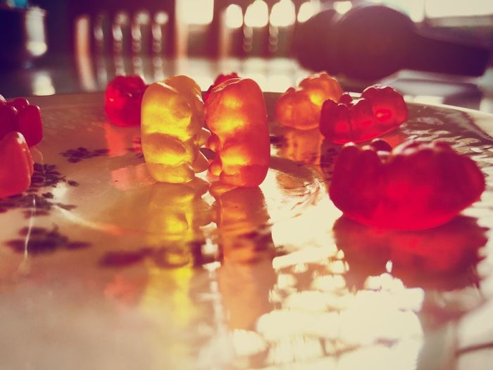Love of panditas. The two flavors that I like: Pineapple and Orange. The hugs are free and full of color. Delicious Candy Vibrant Colors Flavors Fruit Gummies Of Panditas