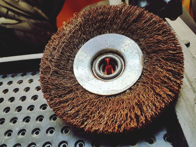 Business Finance And Industry High Angle View Abstract Minimalism Polishing Disk Emery Tools Small Business Auto Service Auto Repair Shop EyeEmNewHere The Week On EyeEm Cleaning Equipment Wire Brush