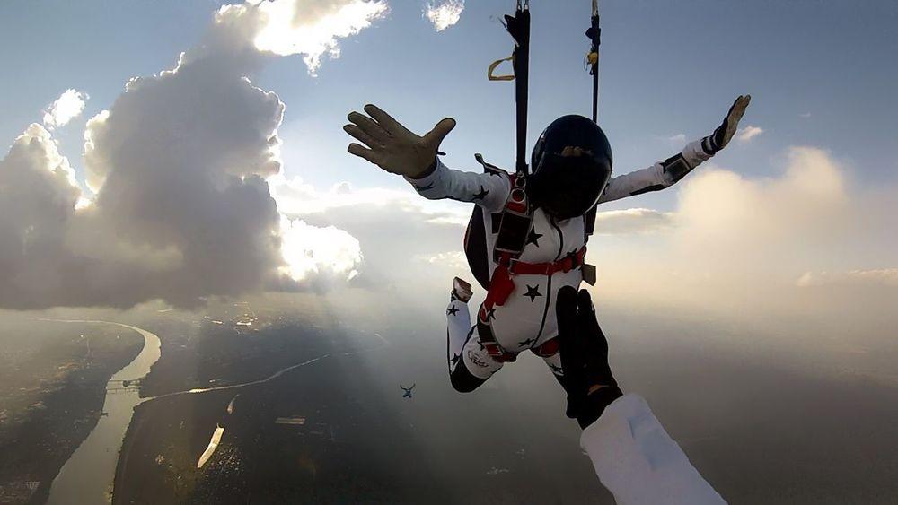 Skydiver Skydive FlyorDie Extreme Sports Sky Adventure RISK Cloud - Sky Go Higher