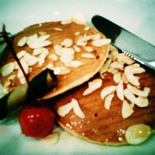 Original pancake by Pazzo Pancake, Paragon Mall, Semarang.