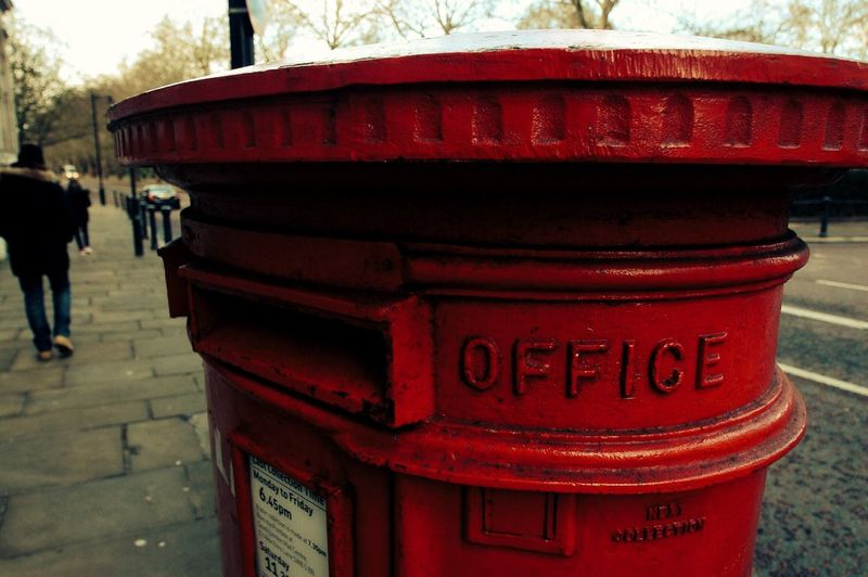 Londres Red Mailbox London OpenEdit