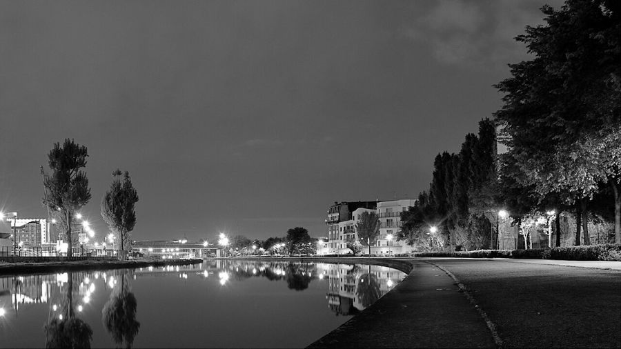 Scanaki Black And White Landscape Photography France Popular Photos Water Reflections Nightphotography Nofilternoedit EyeEm Best Sellers Cityscapes The Great Outdoors - 2015 EyeEm Awards Nikon D5100  City View  Saint-Denis Stade De France France Docks From My Point Of View Building Canal De Saint-denis Promenade Écluse Shadows & Lights Enlightened City Black And White Friday The Architect - 2018 EyeEm Awards
