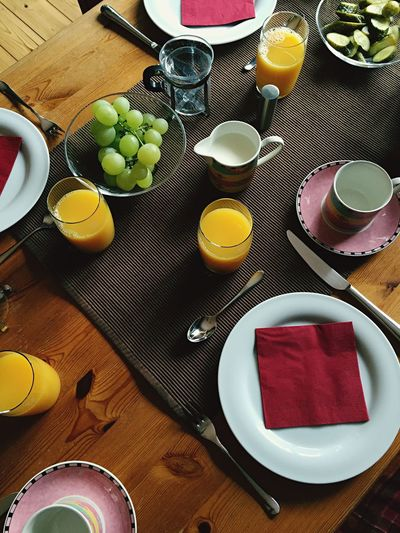 Frühstück Breakfast Brunch Brunch Around The World Coffee Juice Orange Juice