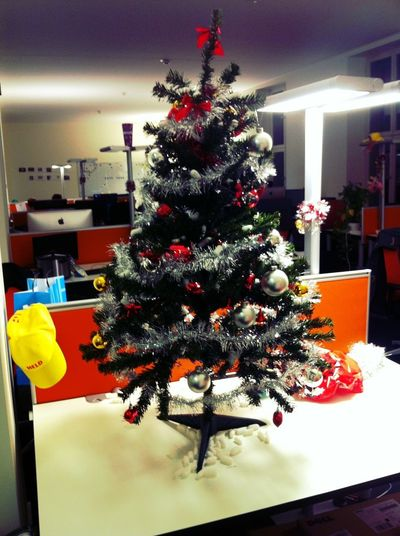 Christmas at Lieferheld HQ Christmas