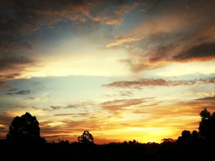 sunset ramadhan