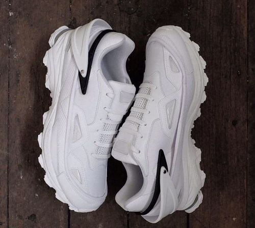 triple white RafSimons