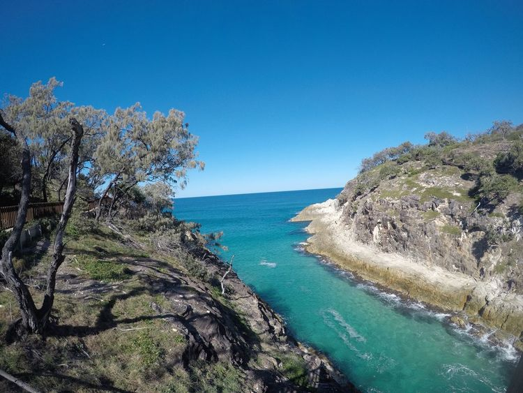 North Stradbroke Island Sea Water Beauty In Nature Scenics - Nature Sky Plant EyeEmNewHere Nature Blue First Eyeem Photo