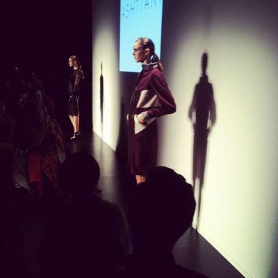 Coats in rich shades of burgundy at Ashtiani @golnazashtiani Wmcfw Fashion Style Torontofashionweek instagood