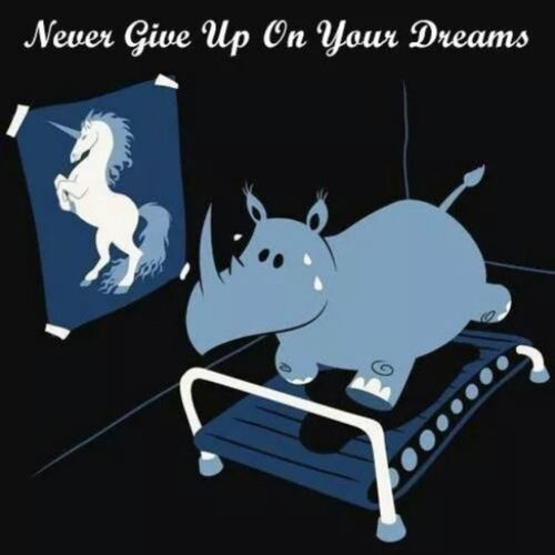 :') NeverGiveUpOnYourDreams