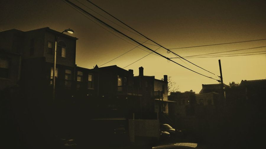 City Night Sky