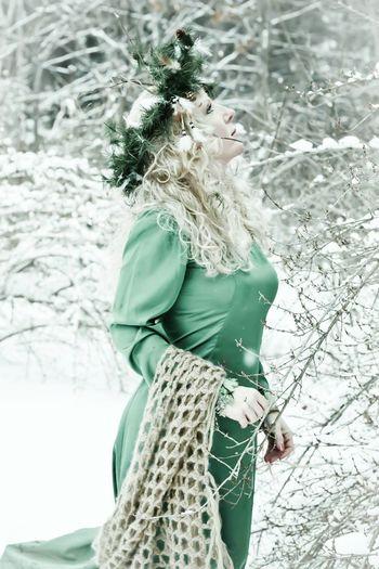 Fantasy Styled Stylized Winter People