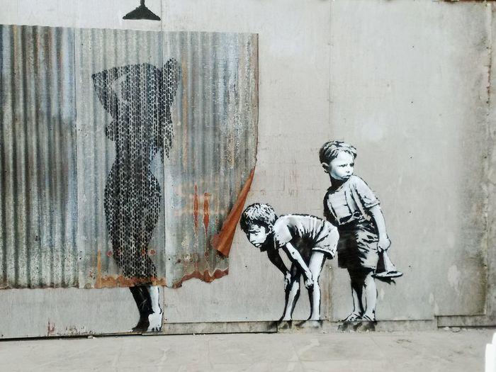 Banksy Bristol Day Dismaland Dismaland® Graffiti Graffiti Art Streetart Women
