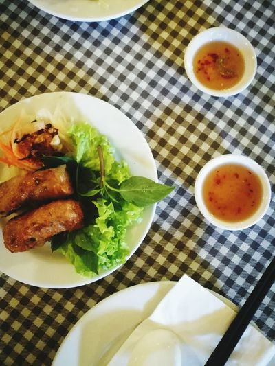 Vietnamese Spring Rolls Food And Drink Ready-to-eat Asian Food First Eyeem Photo