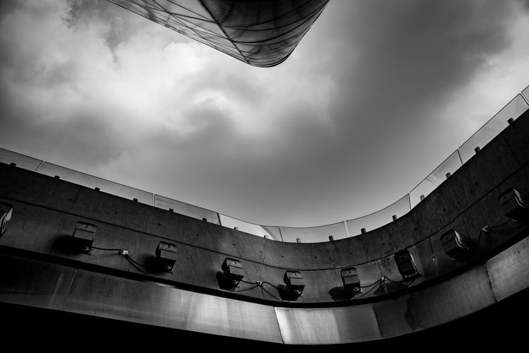 Low Angle View Of Guangzhou Opera House