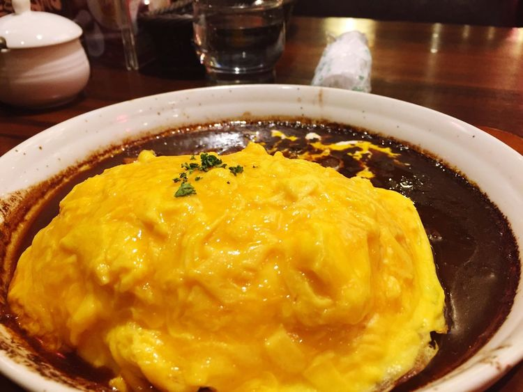 What's For Dinner? Omurice Delicious Iphone6 IPhoneography Japan