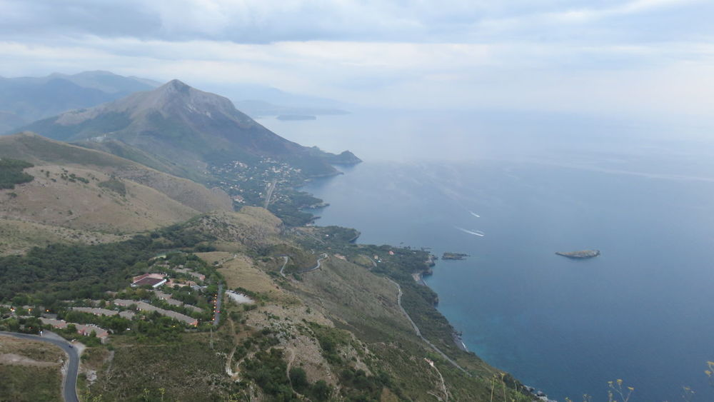 Aerial View Basilicata, Italy  Beauty In Nature Coastline Day Distant Mountain Mountain Range Nature Non-urban Scene Outdoors Remote Scenics Sea Sky Tourism Tranquil Scene Tranquility Transportation Travel Destinations Vacations Water