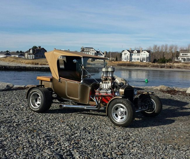 T Bucket Hot Rods Classic Car Maine Christmas Day