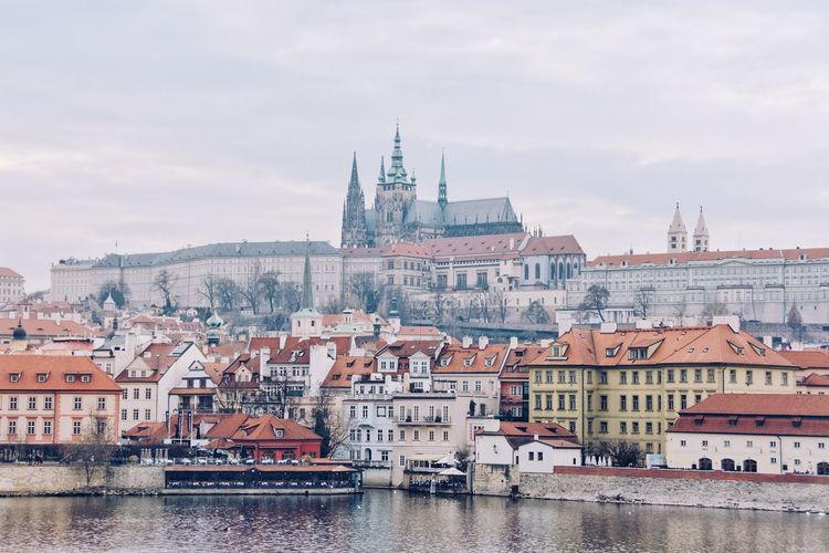 This is Prague. I visited it on a weekend two months ago. Yes, two months. I take my time to post the photos I take. First, I try to enjoy one moment at the time. It is already hard to balance two passions at once. I find traveling alone the best way to embrace them both. Second, I am a control freak which stops me from being efficient when it comes to organizing, selecting and editing photos. Editing comes way after, and the longer I wait the more exiting it gets Castle Travel Architecture Building Building Exterior Built Structure Cities City Cityscape Nautical Vessel Prague Castle Residential District River TOWNSCAPE Travel Destinations Waterfront The Traveler - 2018 EyeEm Awards