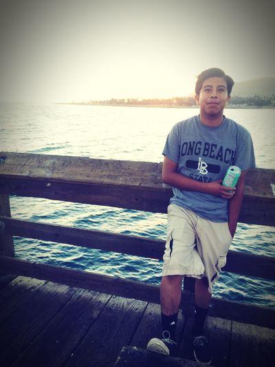 Ventura Pier Ventura Beach Just Chillin' Enjoying Life With Friends