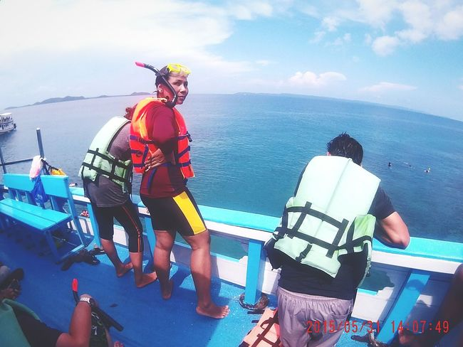 My mom Fammily Dive Diving Snorkeling Koh Chang Gopro Gopro Shots Goprothailand SJ4000 Wifi Thailand