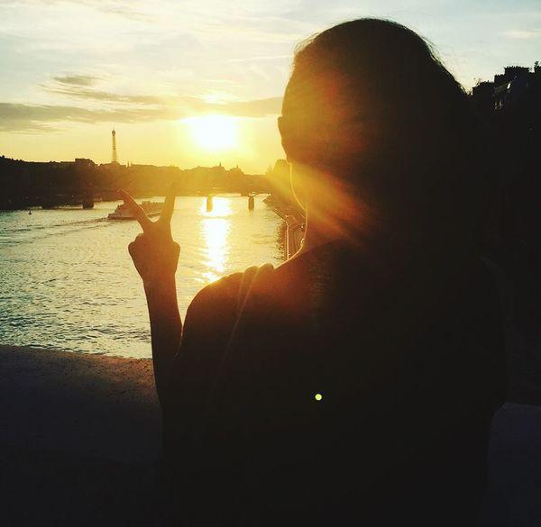 Summer Views : Paris my lovely city, fabolous time behind Eiffel Tower ❤️ Love from Paris ❤