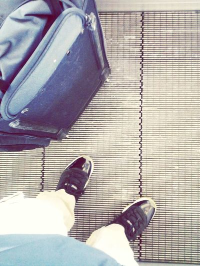 escalator life with the jams on. air port wid it. Air Jordan Earlier Space Jams