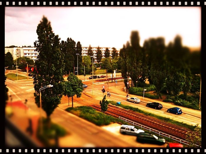 Panorama | View From The Balcony | Spring'13 in Hellersdorf | Tram