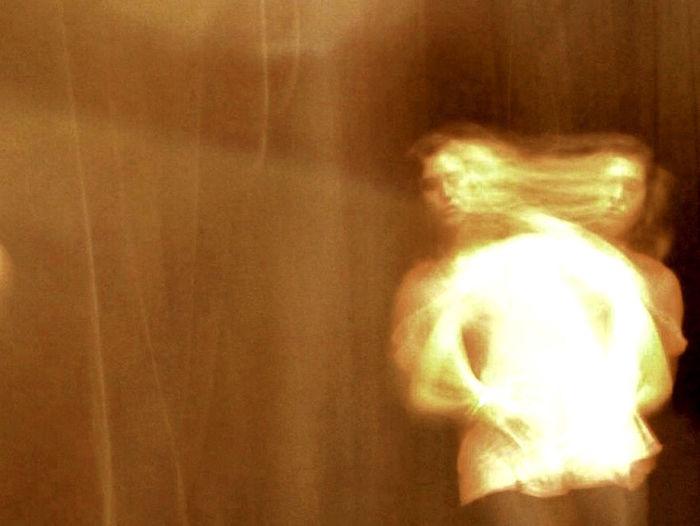 Monochrome ghost