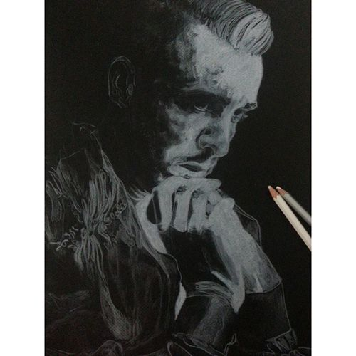 Finish* Cemadrian Tuzkral Art Drawing pencil black
