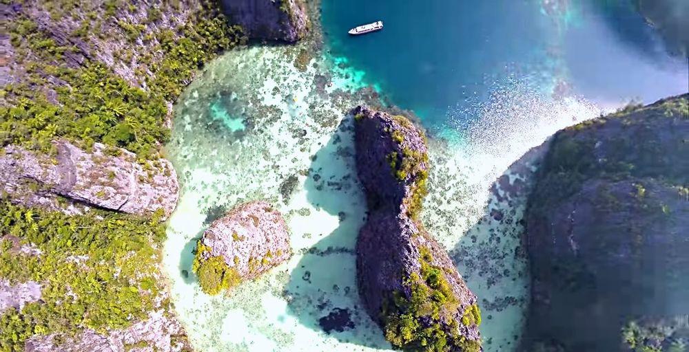 Raja Ampat Mountain Rock Mountain Sea Landscape Nature Photography Outdoors EyeEm 2018 EyeEm Nature Lover EyeEm Best Shots - Landscape UnderSea Water Sea Close-up