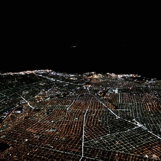 Nightphotography Lights Night No People Outdoors Nature Sea Sky Illuminated Flying Cityscape