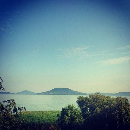 Morning Balatonfenyves Fenyves Balaton Lakebalaton Lake Morning