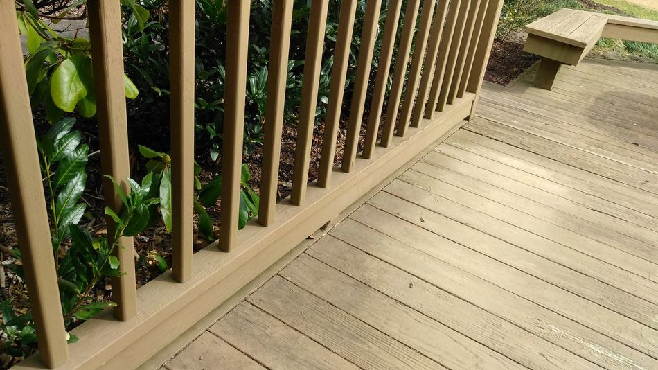 Decking Wood, rail Architecture Outdoors Day No People Architecture