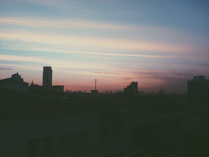 Sunset Clouds And Sky Sunset Silhouettes Vscocam VSCO