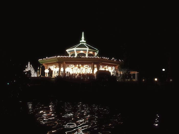 Place of Happiness Illuminated Architecture Outdoors Carousel