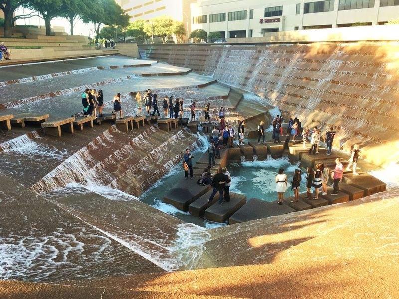 Fort worth water gardens eyeem for City of fort worth public swimming pools