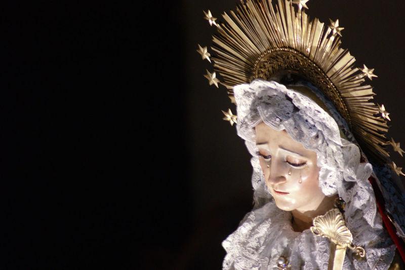 Religion Travel Guatemala Church Semana Santa Night Nightphotography Black Background Beauty Close-up Catholicism