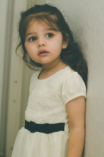 Child Childhood Children Children Only Close-up Day Girl Girls Hispanic Indoors  Looking At Camera Natural Beauty Naturally Beautiful  One Girl Only One Person People Portrait