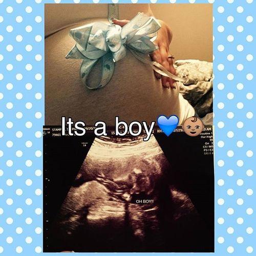 We're having boy yall! 😆🍼👌