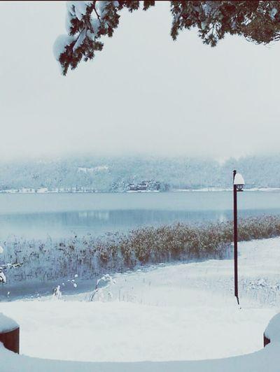 Snow Lake Winter Ice