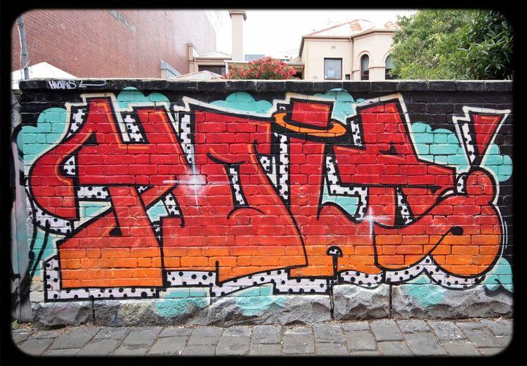 Graffiti Hola Streetart Obe