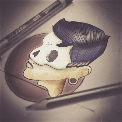 No Babylon Design Studio Portrait Darkart Gothicportrait Cartoon Art Tattoo Design My Best Photo 2015 www.nobabylon.com