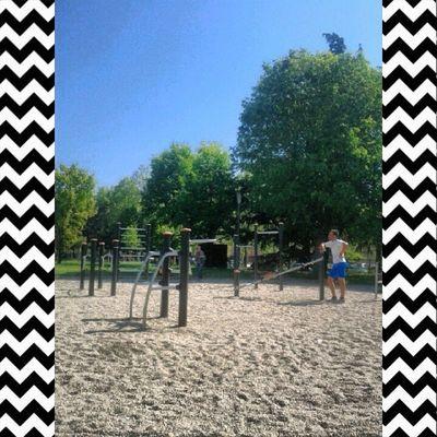| @massiviale workoutime | Workout Sun Sunny Park #training #fun #friends