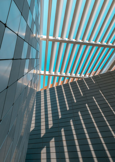 The Architect - 2018 EyeEm Awards Architecture Blue Building Building Exterior Built Structure City Day Glass Glass - Material Low Angle View Modern Nature No People Office Building Exterior Outdoors Pattern Reflection Shadow Sky Sunlight Wall - Building Feature