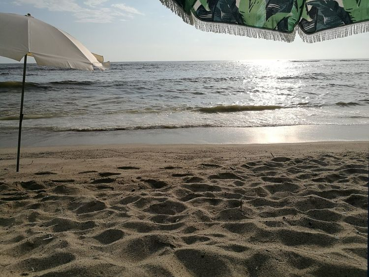 I Love to watch the Sun Waking Up!!! Sand Beauty In Nature Beach No People Empty Beach Early Morning Water WakingUp EyeEmNewHere Peru Lima Punta Hermosa No Filter