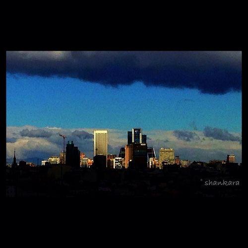 Madrid Skykline
