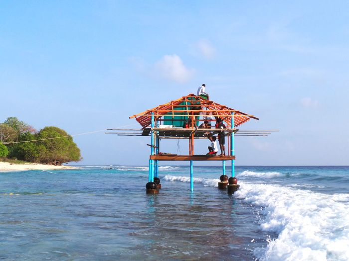 Seahouses WaterVilla Maldives Landscape